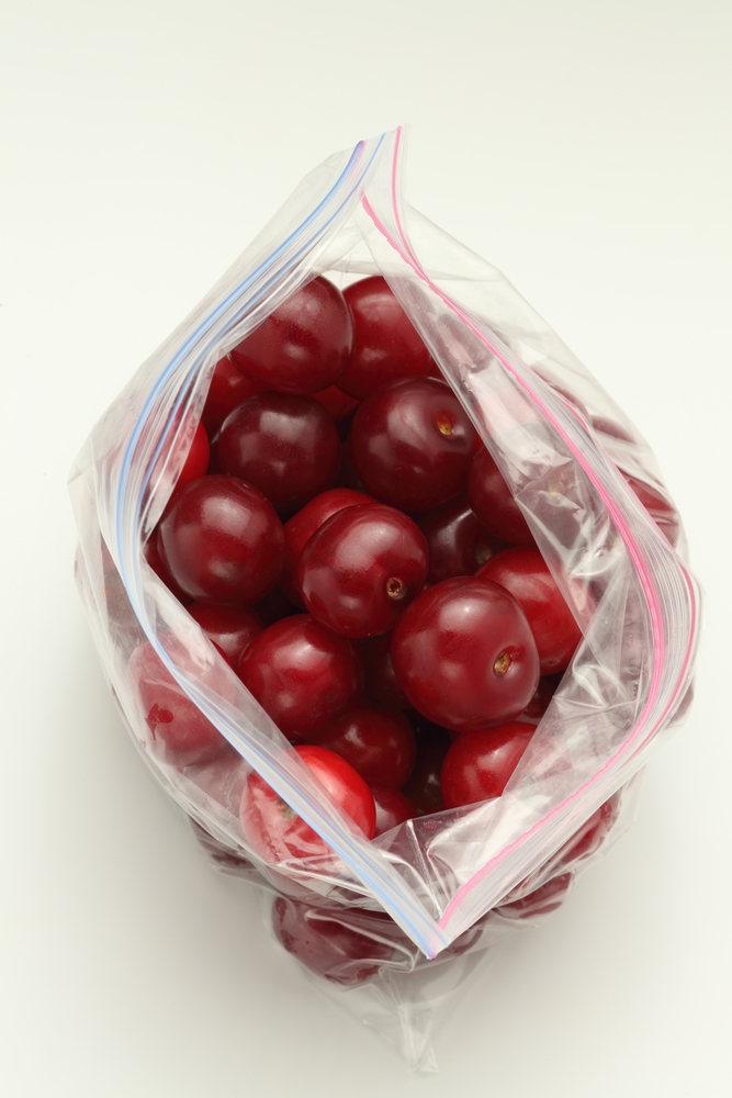 congeler cerises