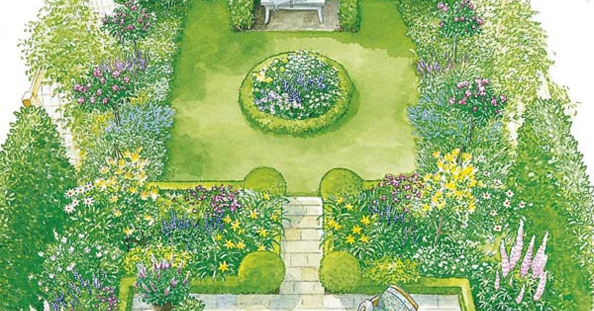 jardin carré