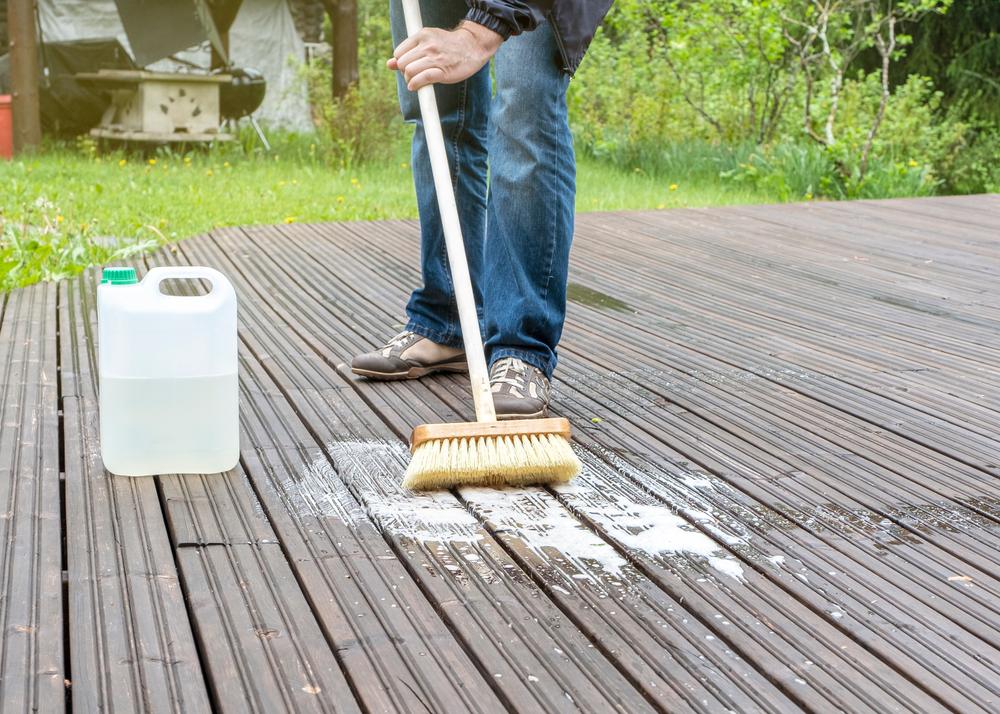 anti-mousse naturels pour terrasse